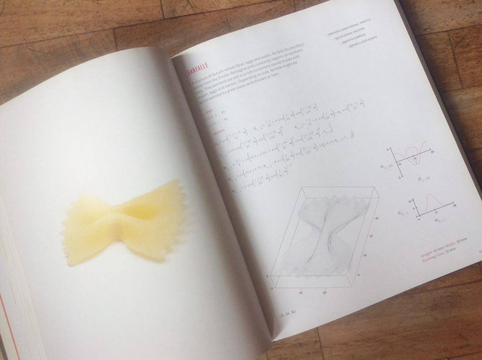 Pasta & Mathematics: capturing imaginations with abook