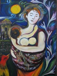 Peranakan Madonna and Child