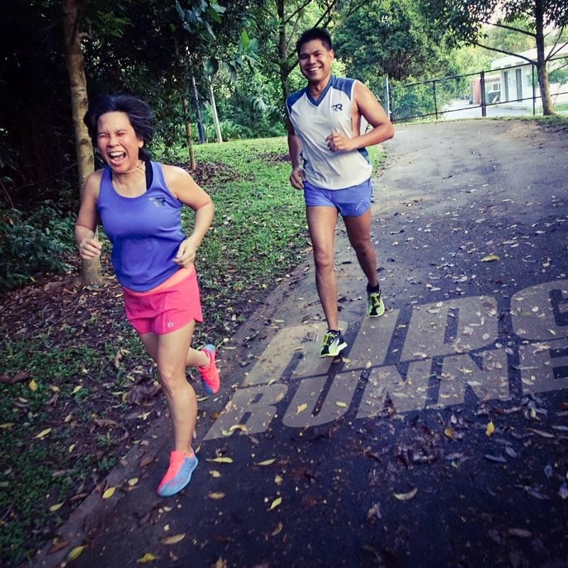 Pure Glee: running on the Southern Ridges
