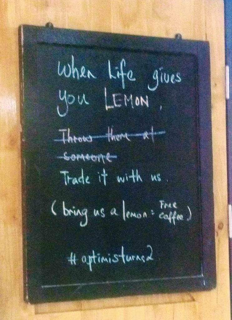 Lemons for coffee