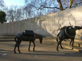 """Animals in War"" Memorial by David Backhouse, Park Lane & Upp Brooke St"
