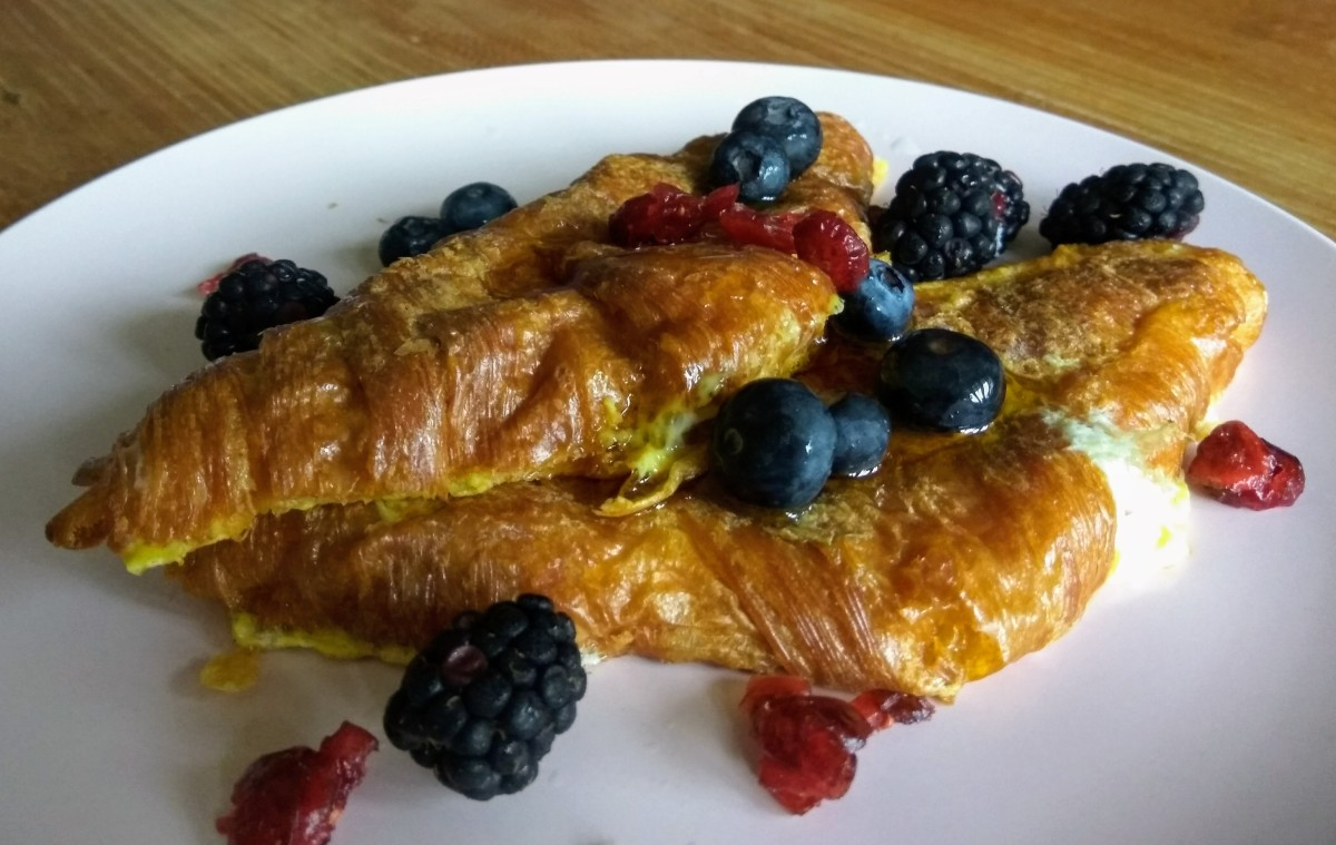 Egg-citing Eggs-periences: Croissant French Toast