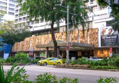 The Hilton Hotel, facade is titled Eulogy to Singapore (1969) by Gerard D'Alton Henderson