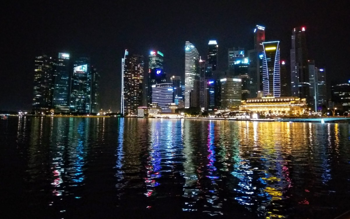 Share Your World: a Singaporean Nightscape