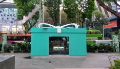 Tiffany & Co Pop up shop in front of Ngee Ann City