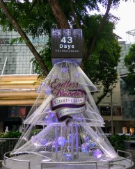 Counting down the days to Christmas (Ngee Ann City)