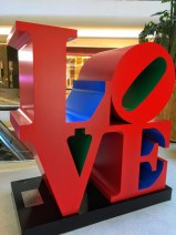Robert Indiana in Central Embassy