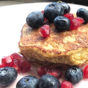 Finally! a good flourless pancake that Loving Husband will eat!