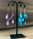 Whorls of Twirls: Quilled earrings