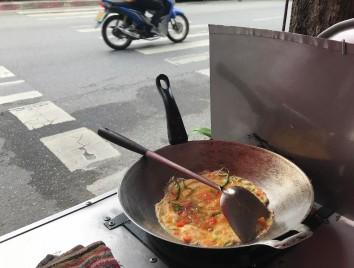 Best omelette ever! (along Chidlom)