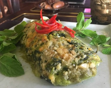 Cheesy Veggie Roulade with avocado filling: made by my Mom