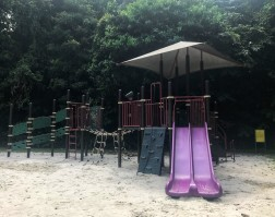 Playground at Bukit Batok Nature Park.