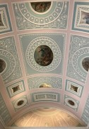 Ceiling of the library