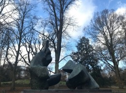 Two-Piece Reclining Figure No.5 (1963-4), Henry Moore
