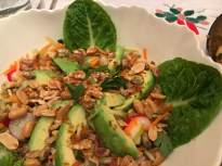 Avocado Fruited Salad (work of our hands)
