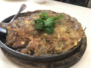 Oyster Omelette in Chinatown