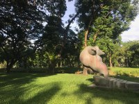 Favourite sculpture in Favourite Park (Lumphini Park)